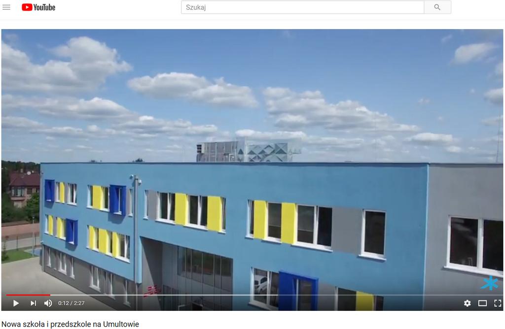 Нова школа та дитячий садок в Познані (район Умултово) з установками Clima Gold